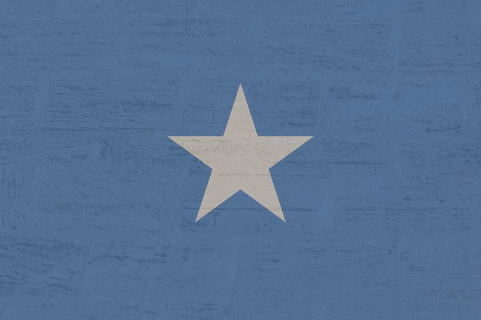 Флаг Сомали изображение
