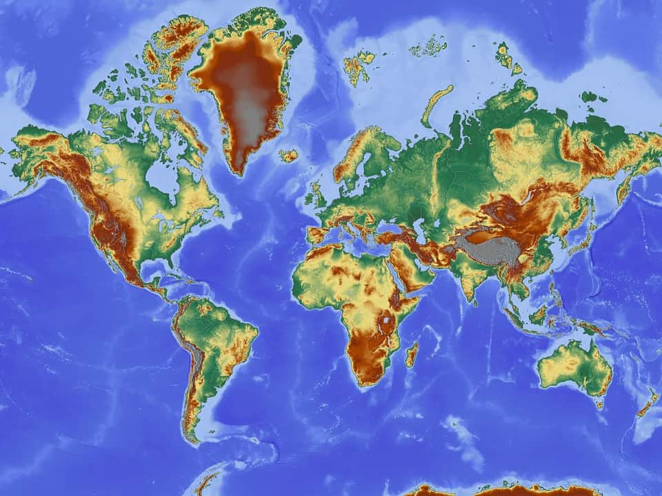 Карта мира изображение