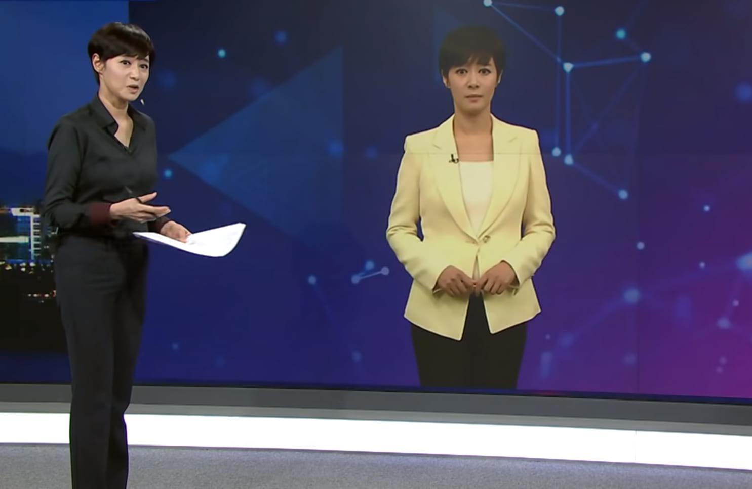 Корейская телеведущая картинка