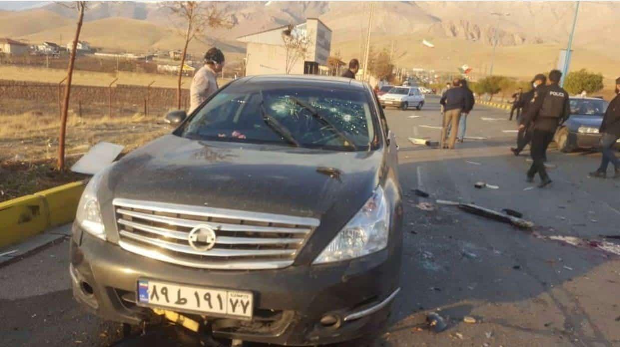 убийство иранского ученого фото