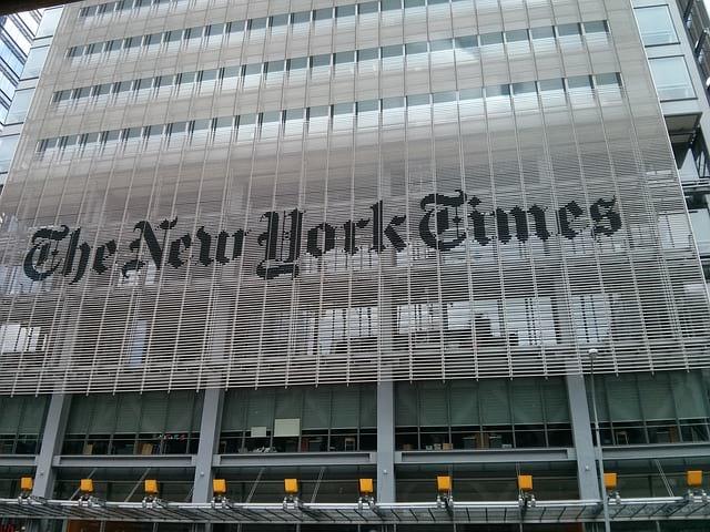 Офис New York Times фото