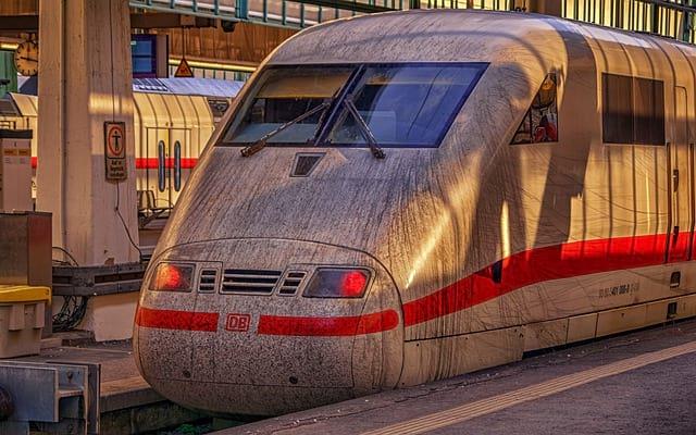 поезд в германии фото