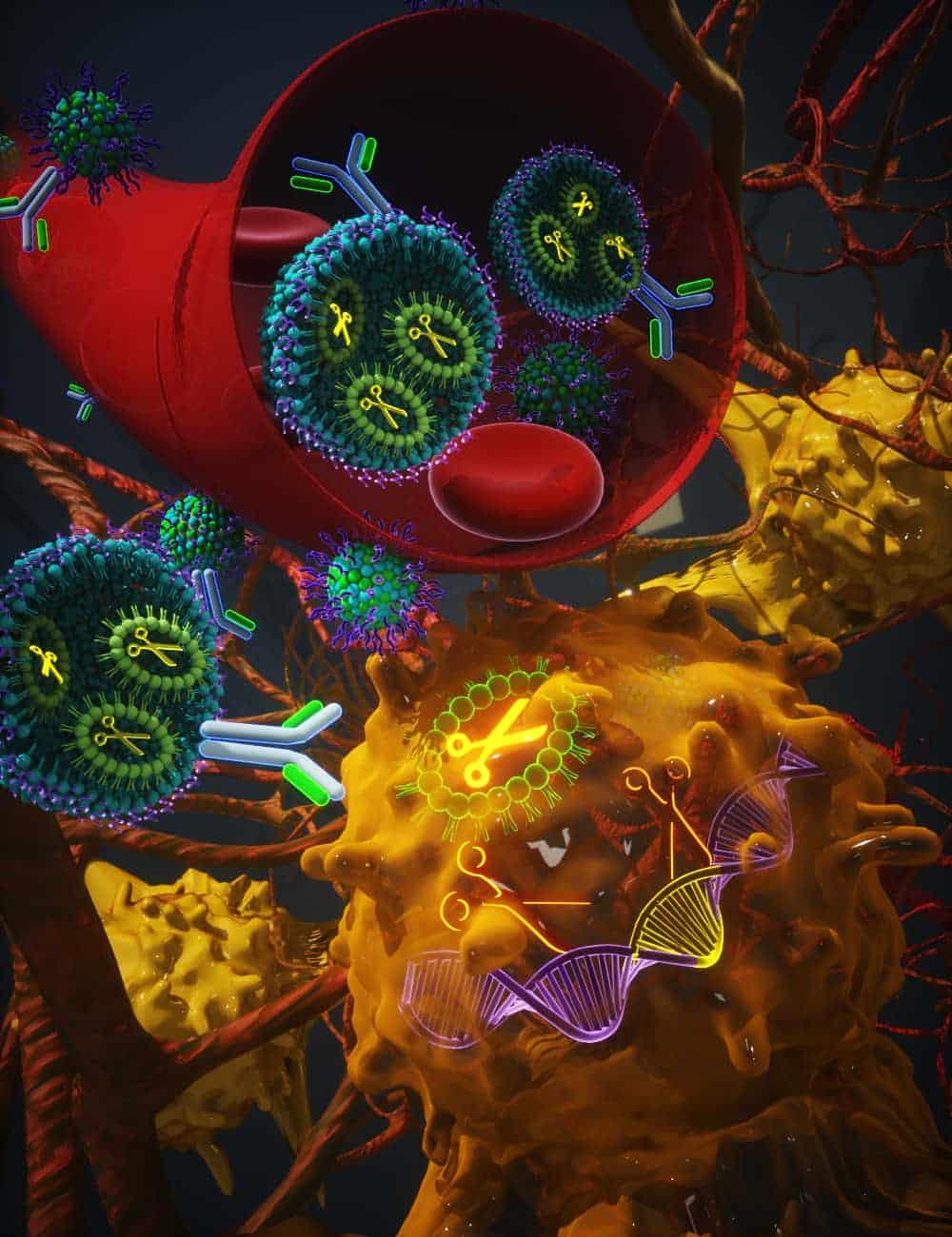 Лечение рака на основе CRISPR изображение