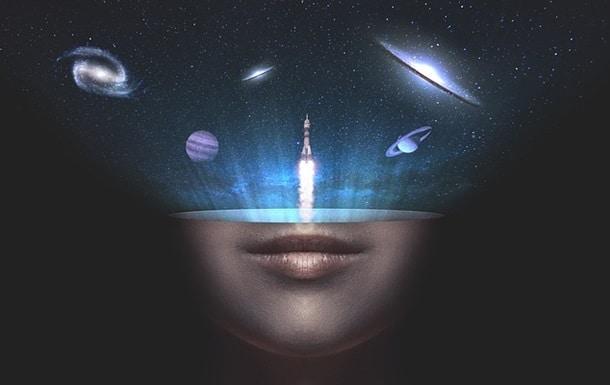 вселенная и человеческий мозг изображение