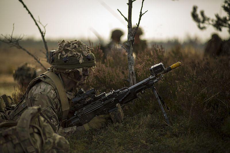 армия великобритании фото