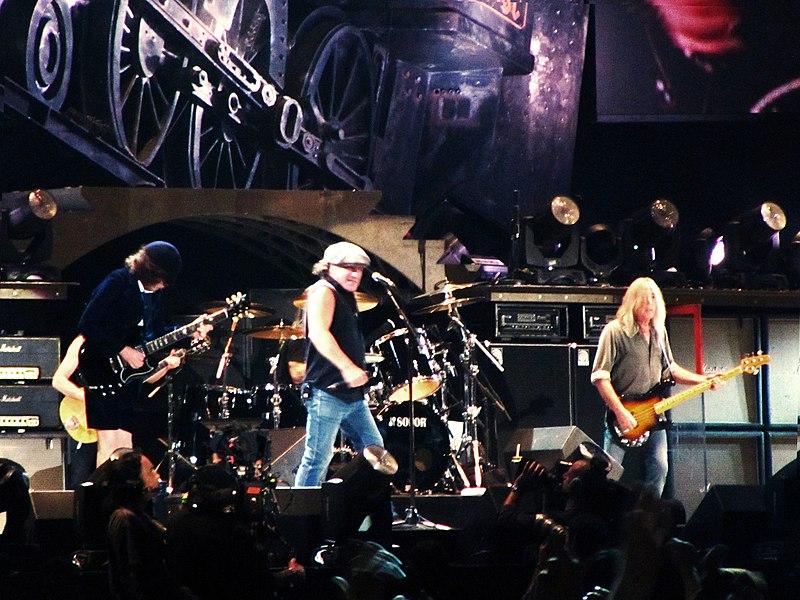 концерт AC/DC фото