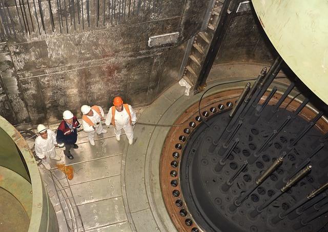 Ядерный реактор фото