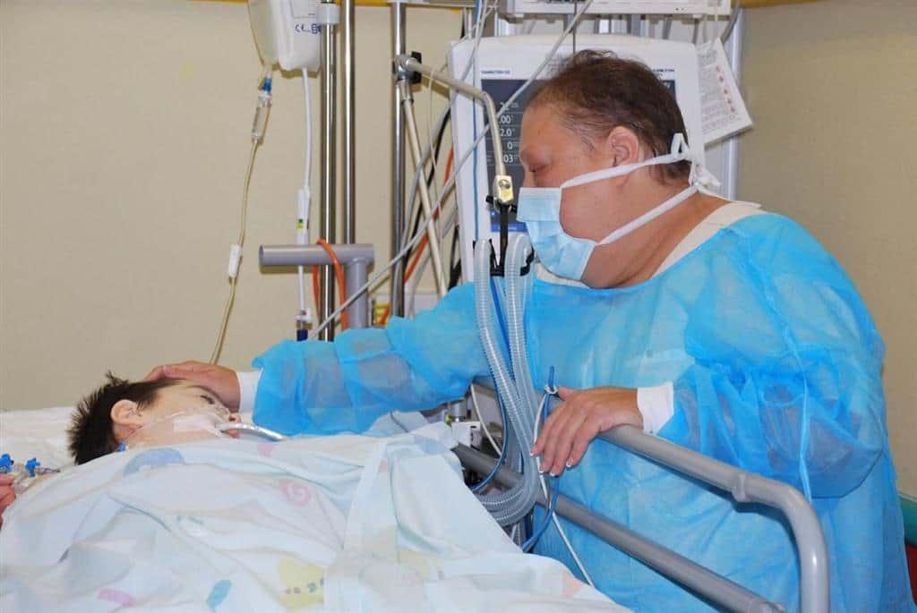 Альмог Гербели в больнице фото
