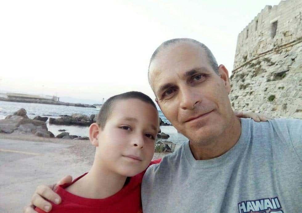 Доктор Омри Нир и его сын Илай фото