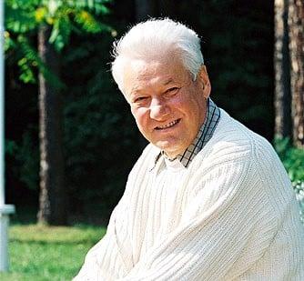 Борис Ельцин фото
