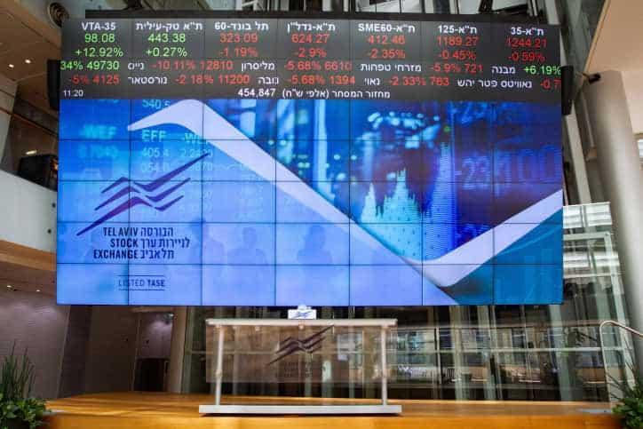 Тель-авивская фондовая биржа фото
