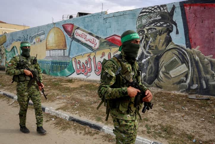 Бойцы ХАМАСа фото