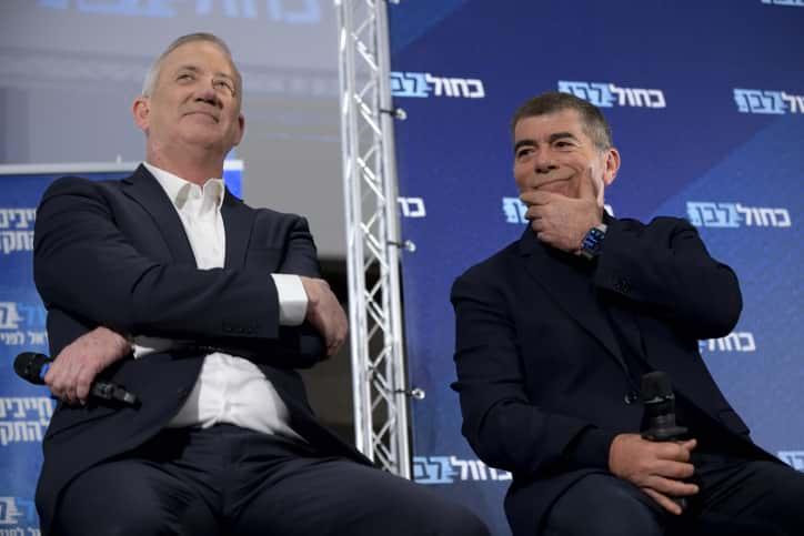 Бени Ганц и Габи Ашкенази фото
