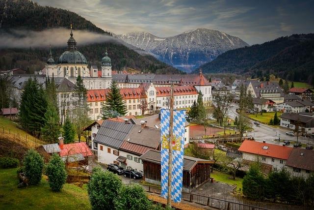 Флаг Баварии фото