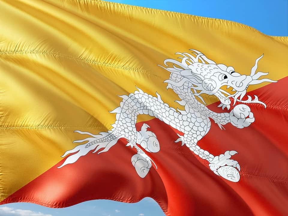 Флаг Бутана фото