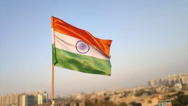 Флаг Индии фото