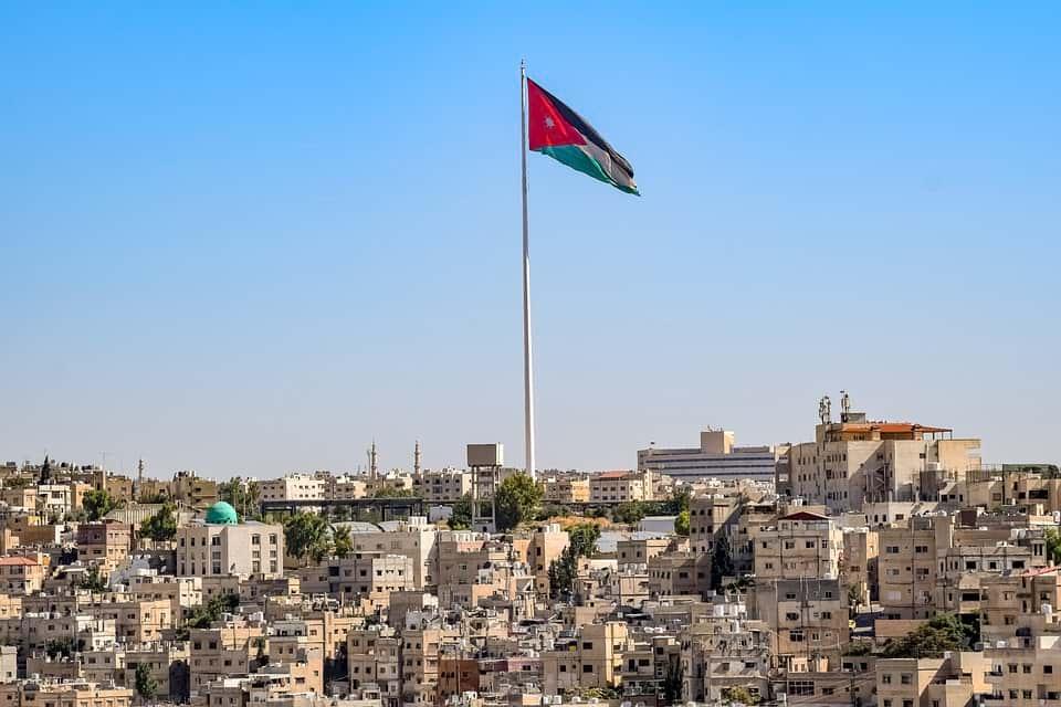 Флаг Иордании фото