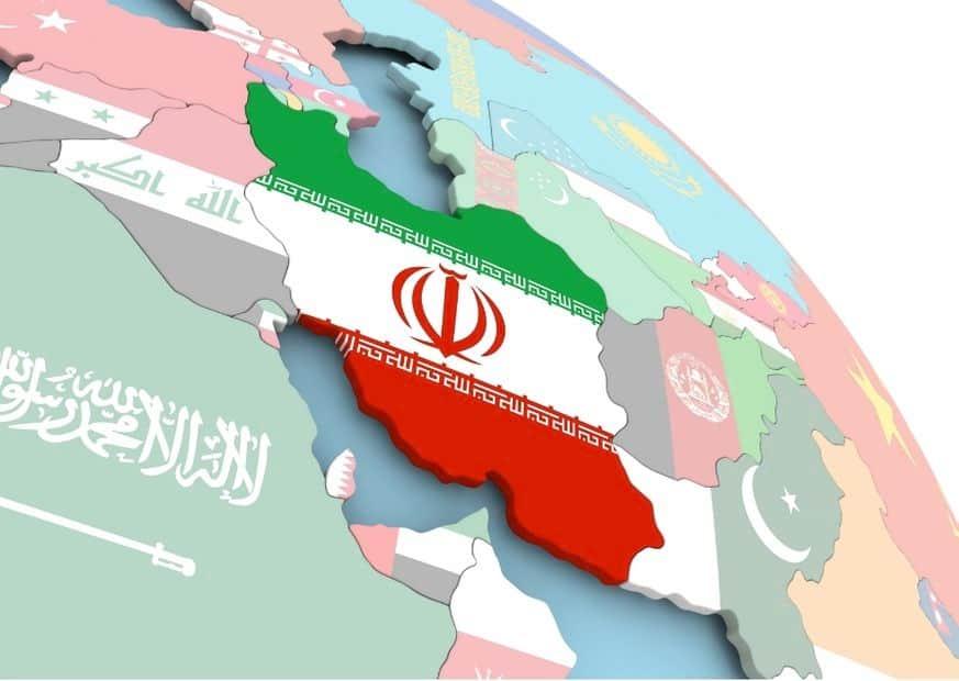Флаг Ирана изображение