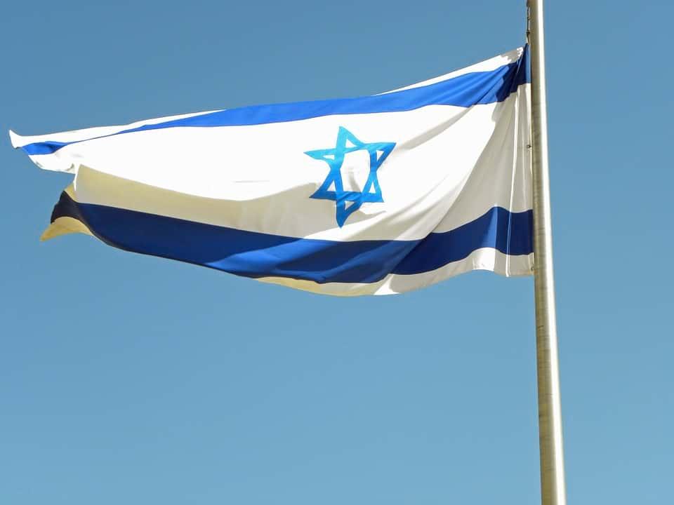 Флаг Израиля фото