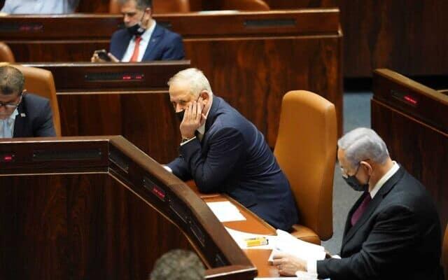 Ганц и Нетаниягу Израиль фото