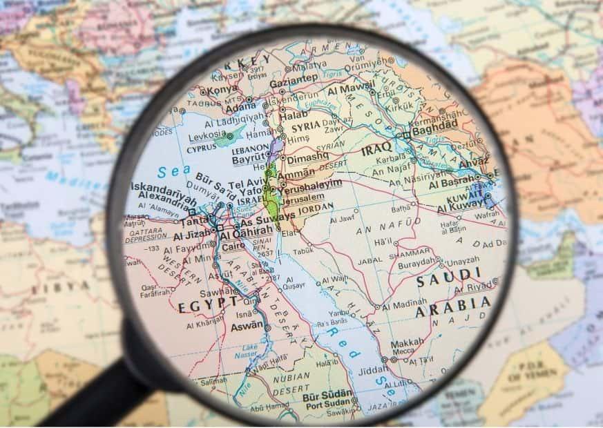Израиль на карте мира фото