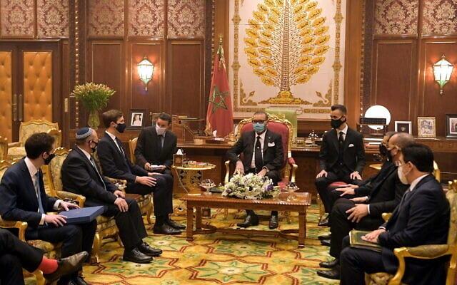 Израиль Марокко переговоры фото