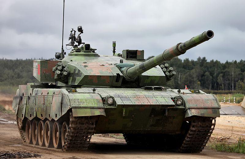Китайский танк Type 96A фото