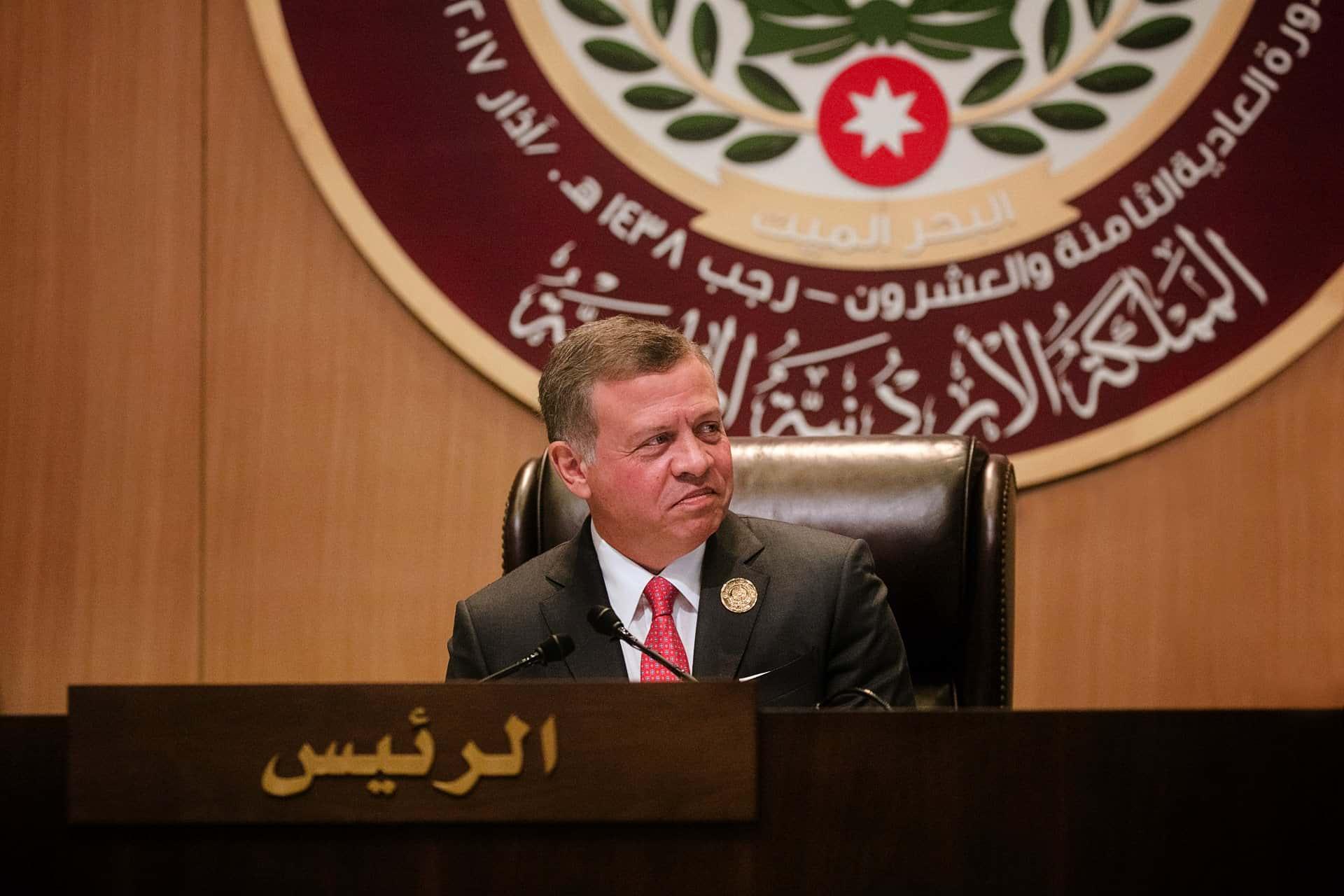Король Иордании Абдалла II фото