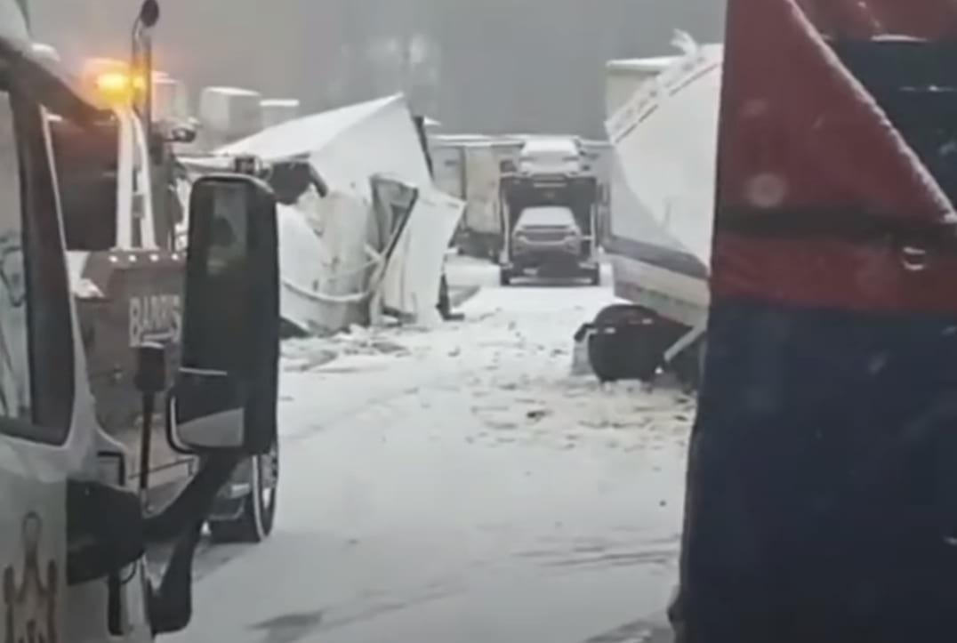 Масштабная авария картинка
