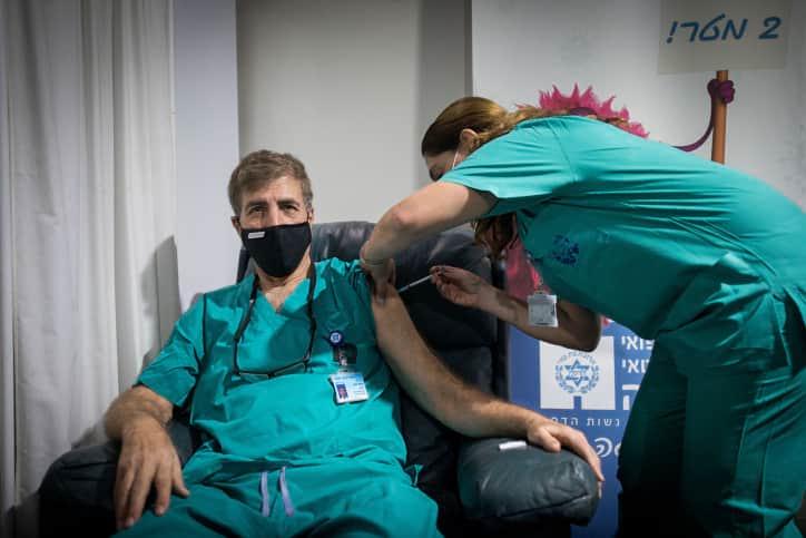 вакцинация от COVID-19 Израиль фото