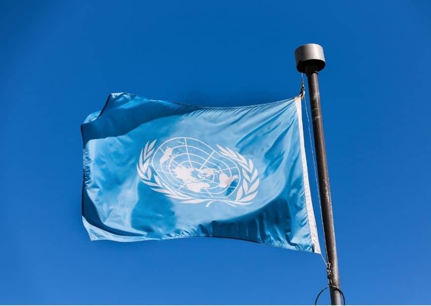 Флаг ООН фото
