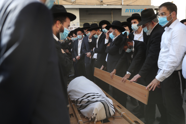 смерть раввина израиль фото