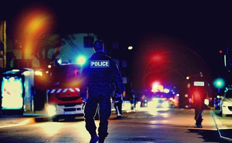 полиция Франции фото