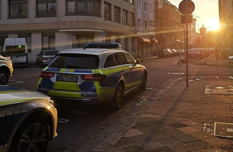 Полиция Германии фото