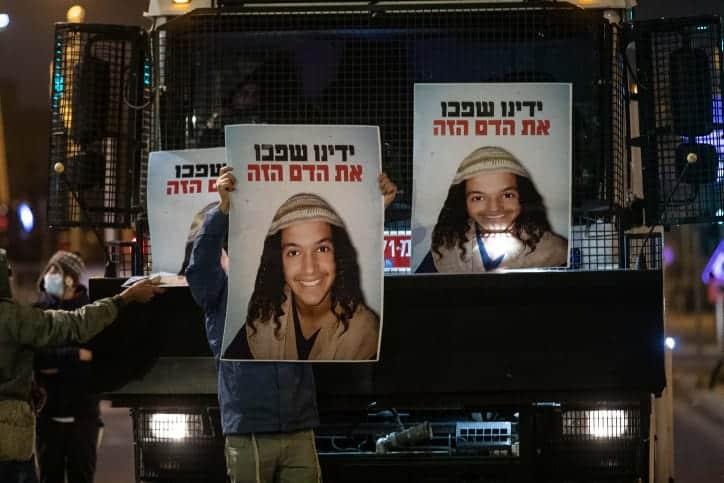 протесты в Иерусалиме фото