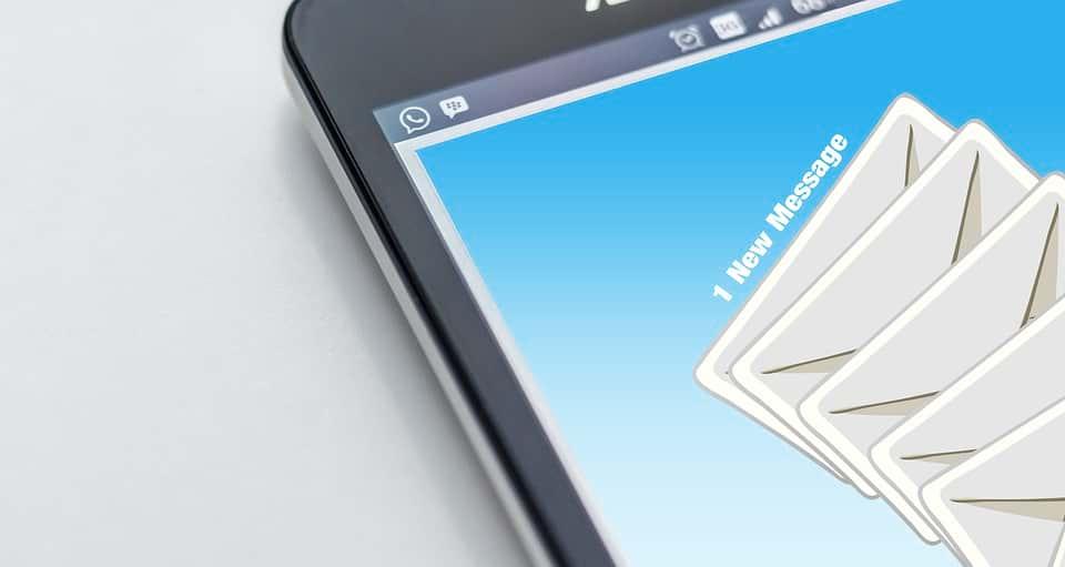 SMS сообщение изображение