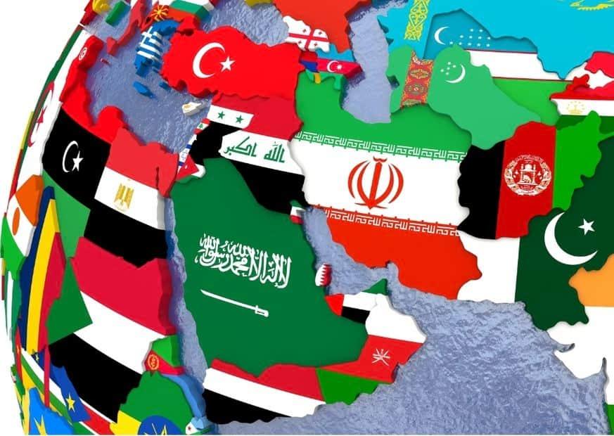 Страны Ближнего Востока изображение