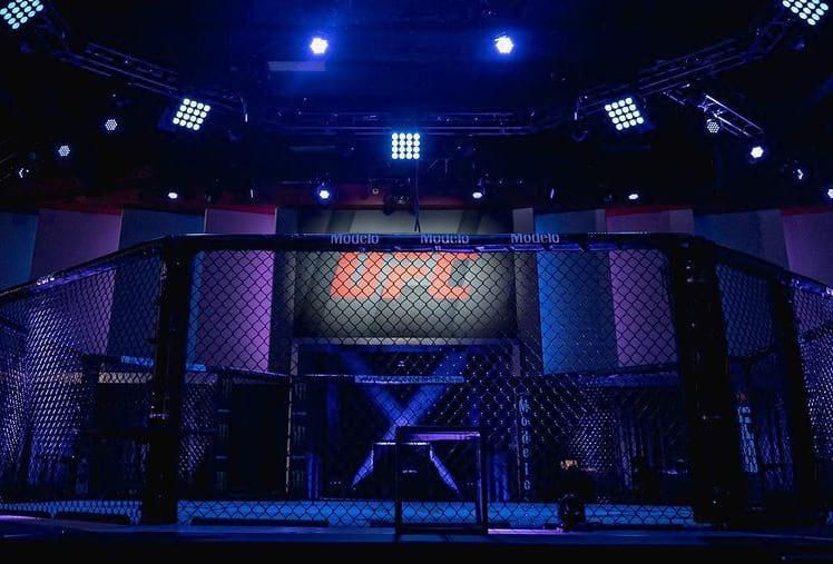 UFC ринг фото