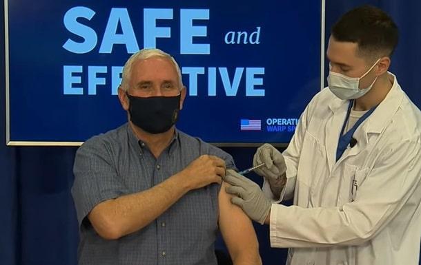 Вице-президент Майк Пенс вакцинировался от COVID-19 фото