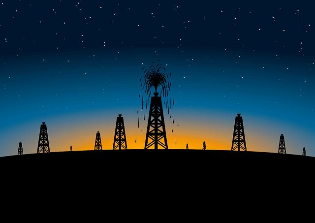 вышки нефти фото