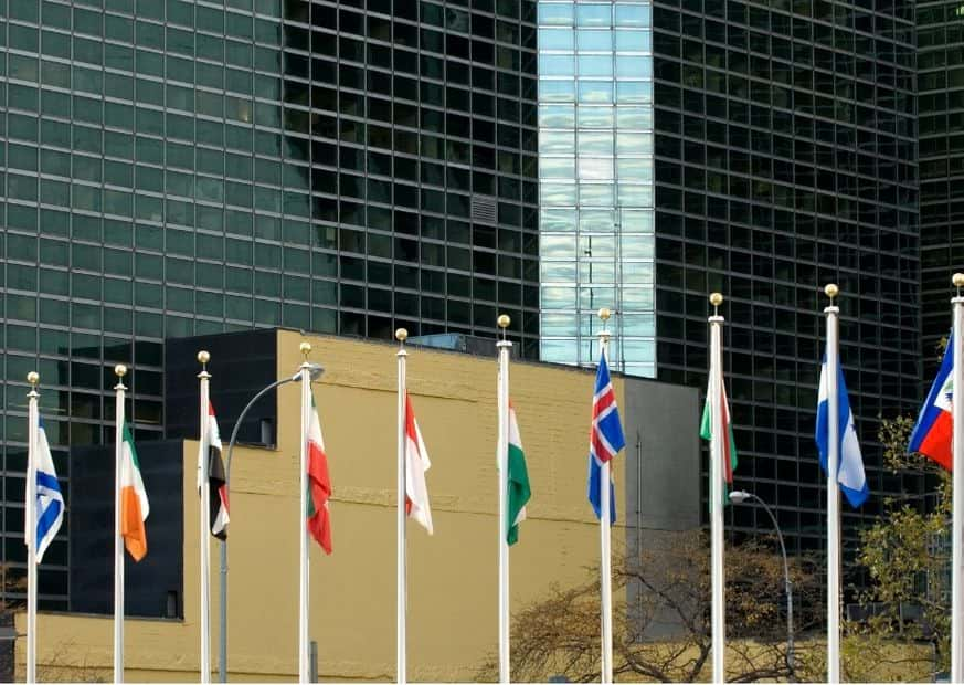 Здание ООН фото