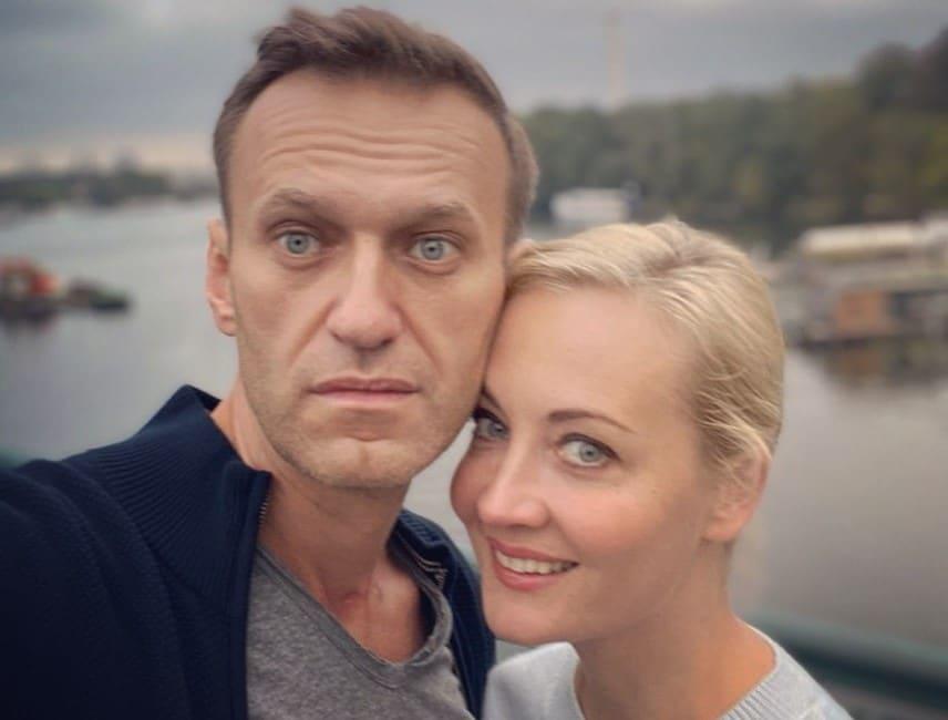 Алексей Навальный Юлия Навальная фото