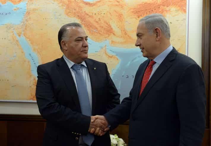 Биньямин Нетаниягу и Али Салям фото