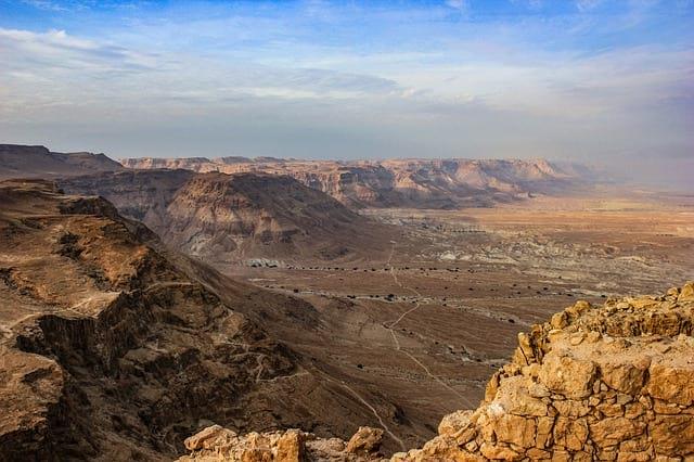 горы, пустыня