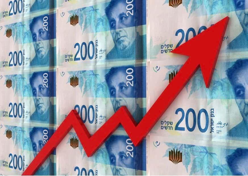 Шекель растет не смотря на усилия Банка Израиля