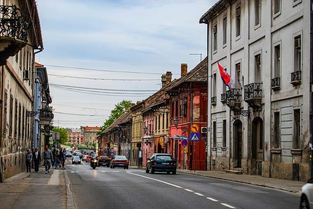 Сербия улица фото