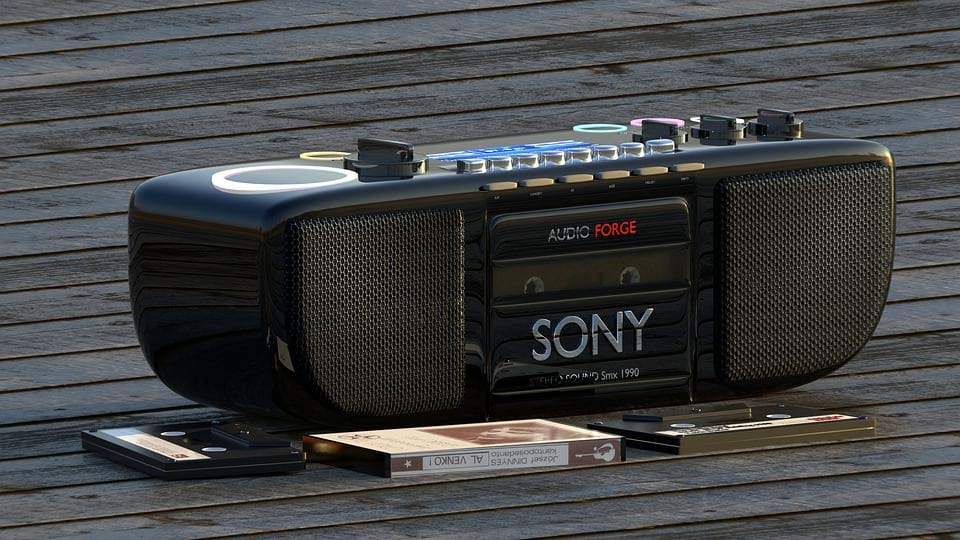 Sony магнитофон фото