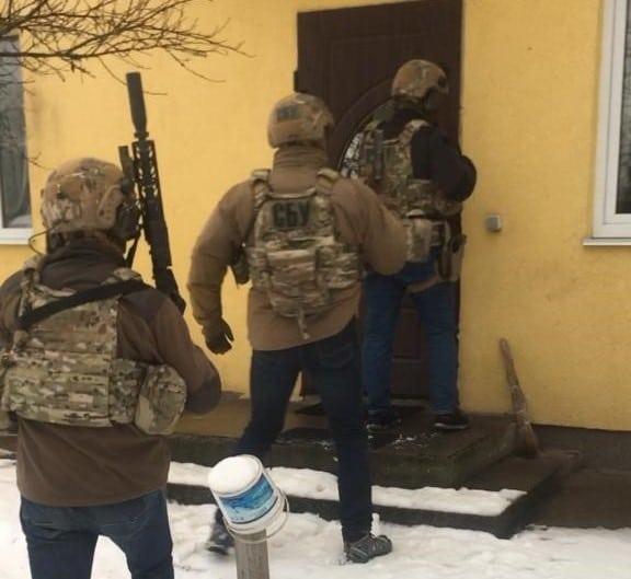 задержание террористов в Киеве фото