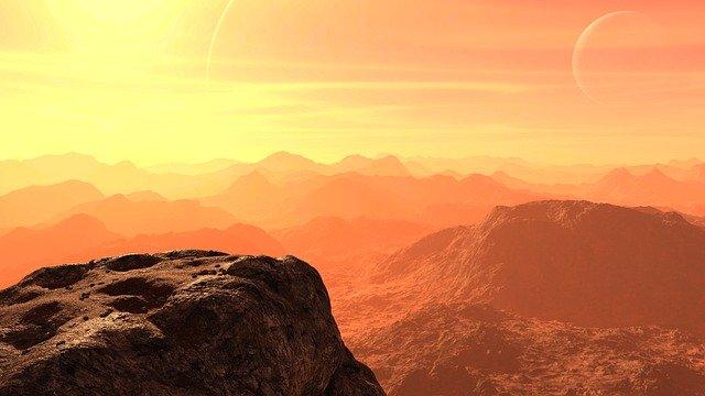 Марс, планета, пустыня