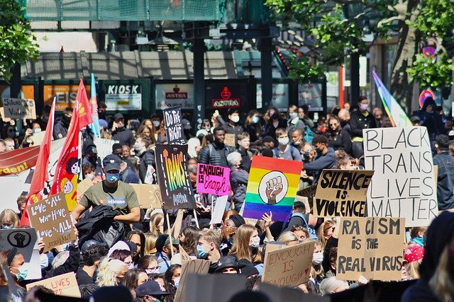 BLM протесты фото